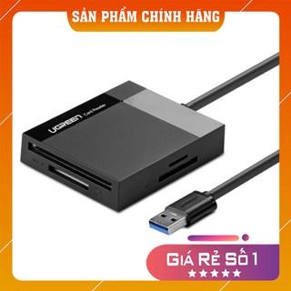 Đầu đọc thẻ nhớ SD/TF/CF/MS chuẩn USB 3.0 Ugreen 30229 chính hãng