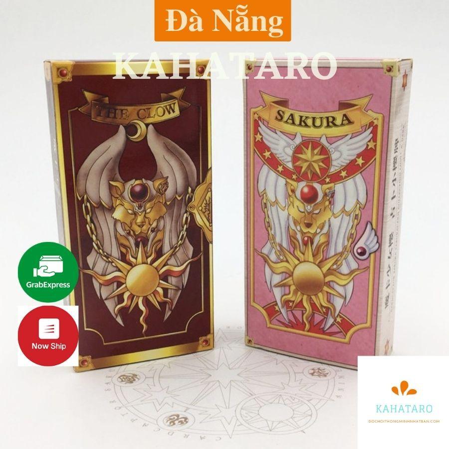 Bài Tarot Clow card cardcaptor Sakura Kimono Sakura thủ lĩnh thẻ bài 56 lá Cao Cấp giấy cứng in sắc nét