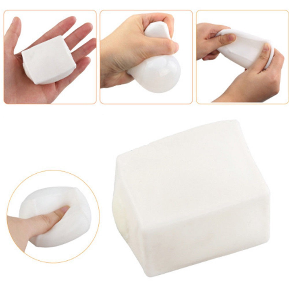 Tofu Anti Stress Reliever Ball Autism Mood Vent Squeeze Toy