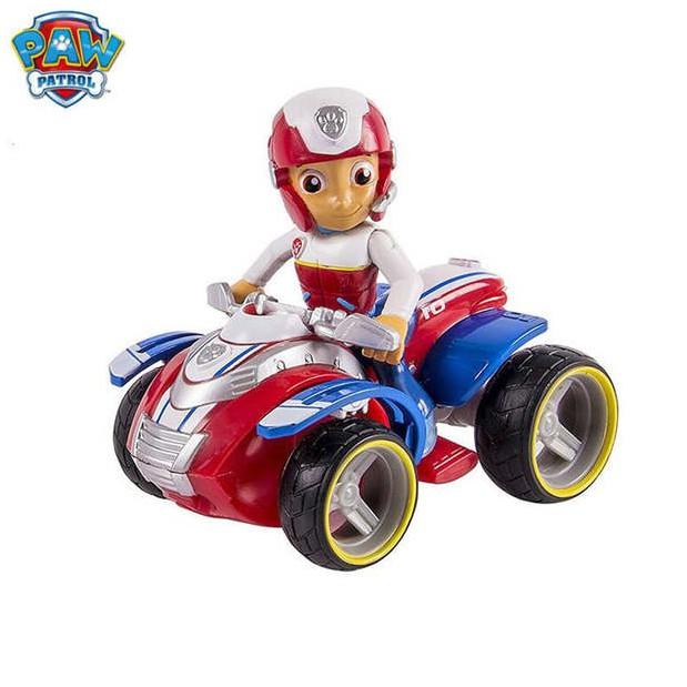 Paw Patrol Ryder's Rescue ATV, Vechicle and Figure – Đội trưởng Ryder và xe Moto