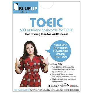 Flashcard - Blue Up - 600 Essential Flashcards For Toeic
