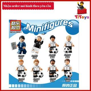 Minifigures các nhân vật đội tuyển bóng đá Đức – Đồ chơi Lắp ghép Xếp hình Non Lego KL9001