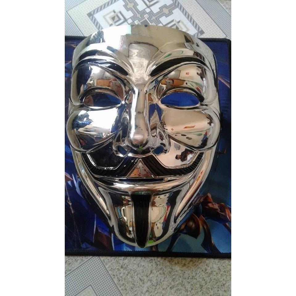 MẶT NẠ HÓA TRANG HACKER anonymous đèn led viền cao cấp chính hãng shop bansigudetama