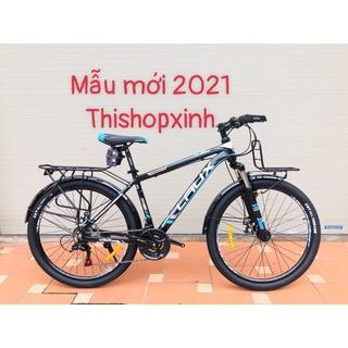 Xe đạp thể thao Laux Pp1.0 mẫu mới 2021 ( Nhắn tin chọn màu) thumbnail