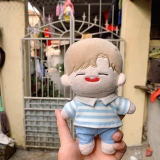 (Ord) Set sơ mi xanh kèm quần cho doll