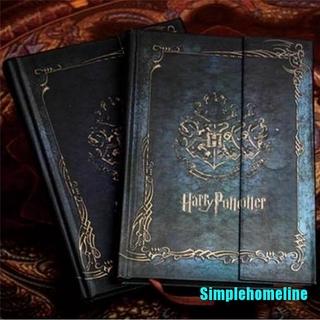 Sổ Ghi Chú Kiểu Dáng Vintage Phong Cách Harry Potter