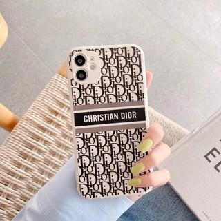 Ốp Điện Thoại Bằng Tpu Mềm In Chữ Dior Dễ Thương Cho Iphone 11 Pro Max Xs Xr 7 8 Plus