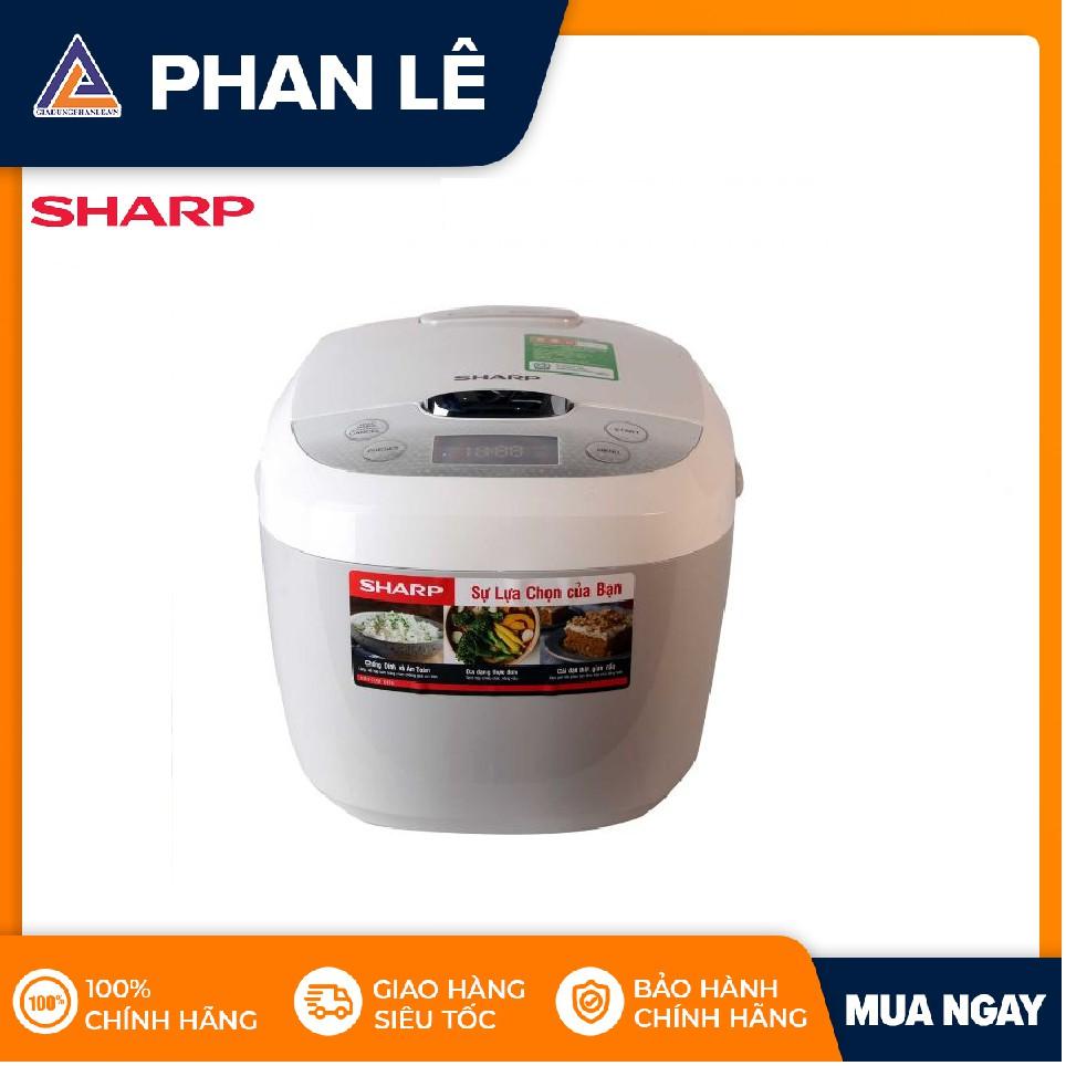 Nồi cơm điện tử Sharp KS-COM180EV-GY