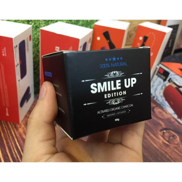 [TẶNG VÒNG PHONG THỦY 99K]_BỘT THAN HOẠT TÍNH TRẮNG RĂNG SMILE UP – CHUẨN CÔNG NGHỆ NHẬ
