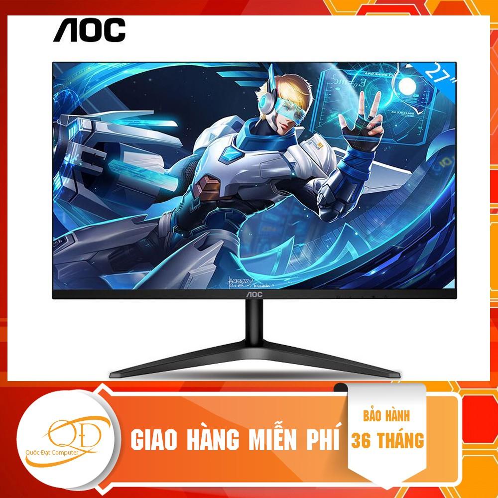 Màn hình AOC 27B1H (27 inch/FHD/IPS/250cd/m²/HDMI+VGA/60Hz/5ms)