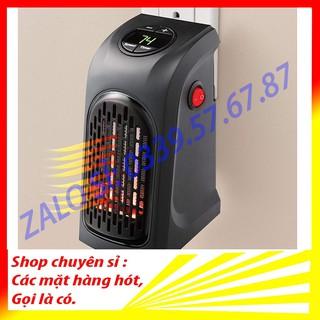 Quạt sưởi ấm mini, máy sưởi mini tiết kiệm điện Handy Hearter 400W, cắm điện trực tiếp
