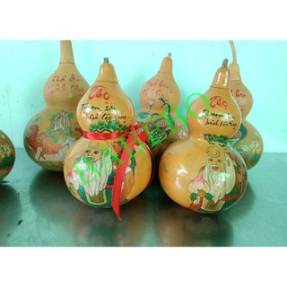 Bầu Hồ Lô Phong Thủy Nghệ Thuật Handmade – BABEBO shop