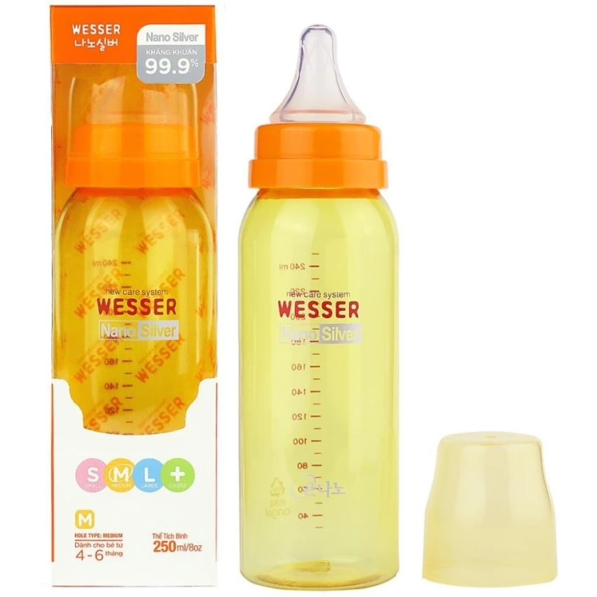 Bình sữa Wesser 250ml