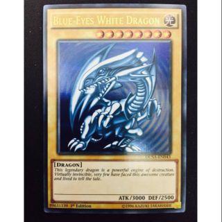 Thẻ bài yugioh blue eyes mã dusa-en043