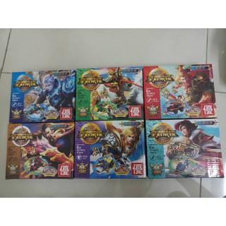 Đồ chơi lắp ráp lego minifigues nhân vật lol tam quốc Y801 trọn bộ 6 hộp như hình.