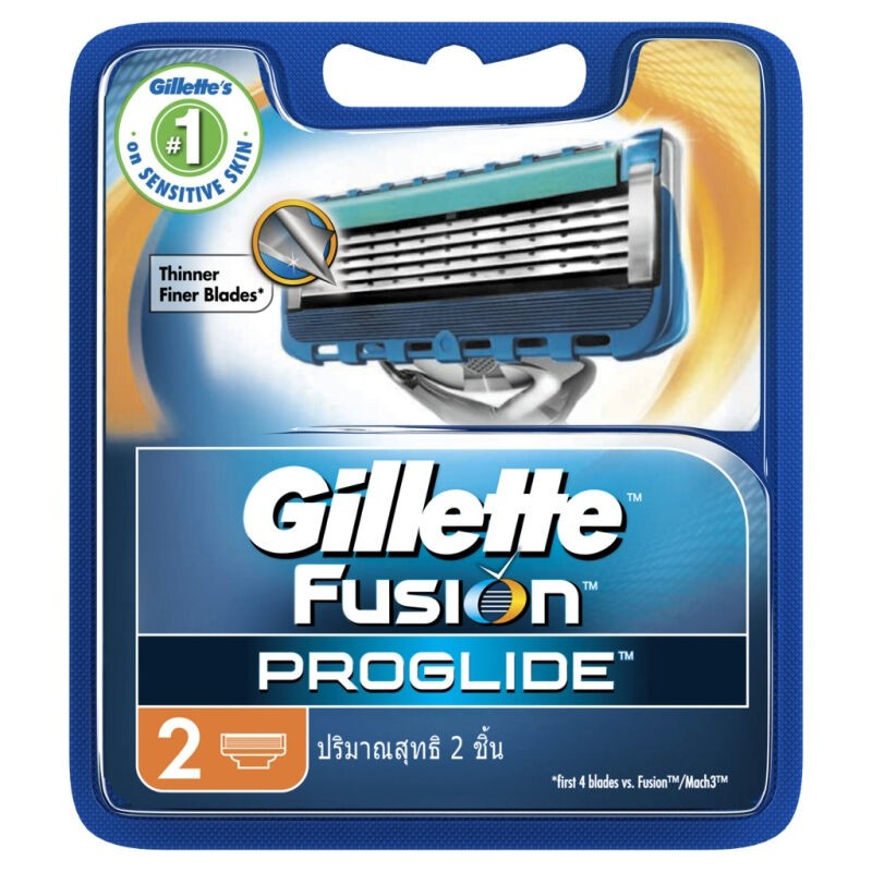 Gillette Fusion Proglide MANUAL Cart 2S 1CSX40IT*2X10X4