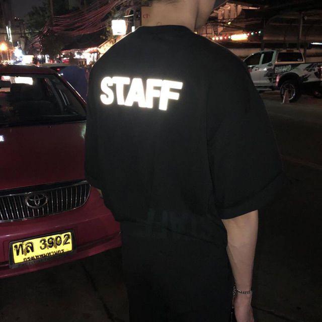 [Nhập WA9925 giản 25k]Sét áo t-shirt quần V phản quang cực chất