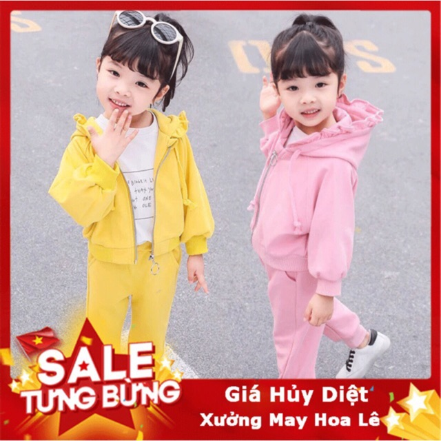 Quần áo trẻ em thu đông cho bé gái đáng yêu