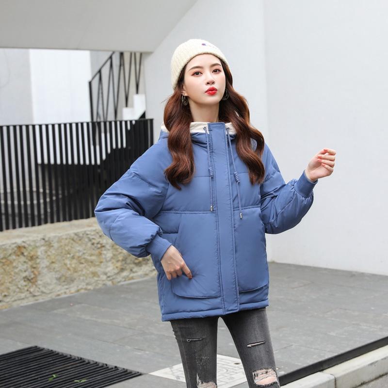แจ๊กเก็ต ใหม่ แจ็คเก็ต ฝ้าย เสื้อโค้ต famale อบอุ่น เสื้อโค้ท เกาหลี แจ๊กเก็ตผ้าฝ้าย หญิง แจ๊กเก็ตของผู้หญิง เก๋ แจ๊กเ