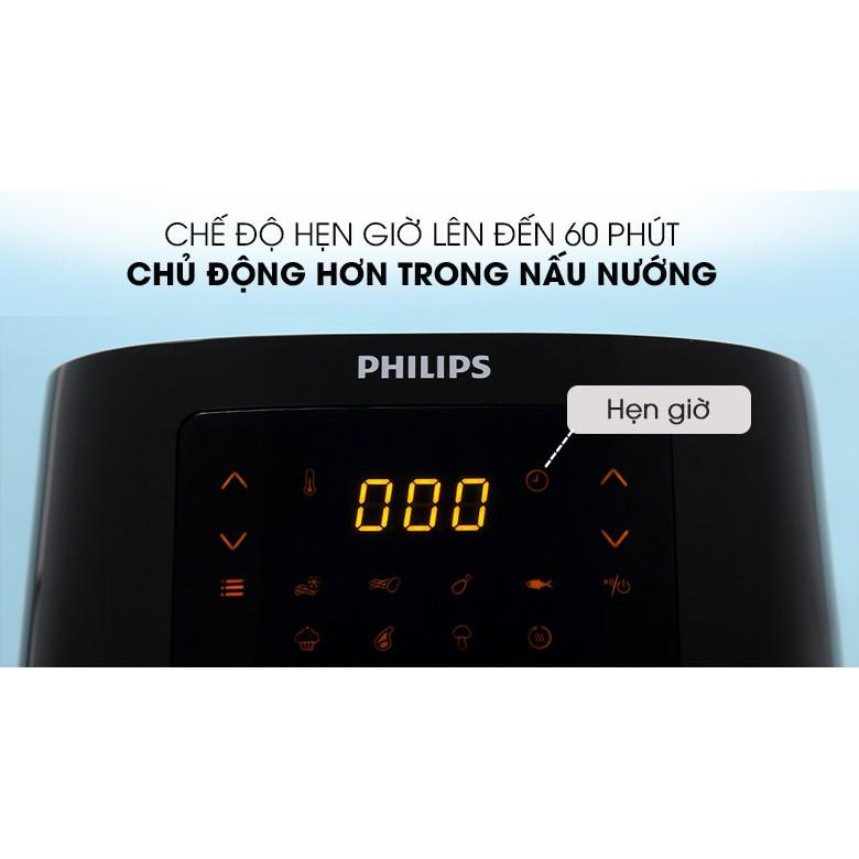 [HÀNG CHÍNH HÃNG] Nồi Chiên Không Dầu Philips - HD9252 Dung tích 4,1l, Công suất 1400W