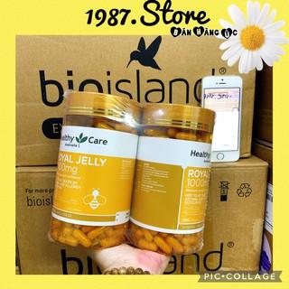 (Date 2023) Sữa Ong Chúa Healthy Care Royal Jelly 1000mg, Úc (365 viên)