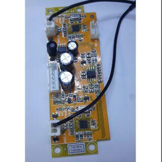 Mạch thu sóng micro UHF - tần số 730 - 749mhz - giá 1 board 280k