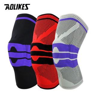 Đai bảo vệ đầu gối AOLIKES A-7721 trợ lực khớp gối với các thanh cacbon đàn hồi sport knee protector