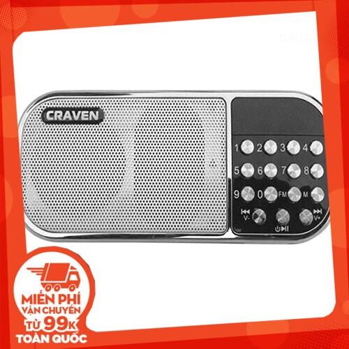 {SALE SẬP GIÁ} Bộ loa nghe nhạc USB Craven CR-22 (Đỏ) và Thẻ nhớ 8GB