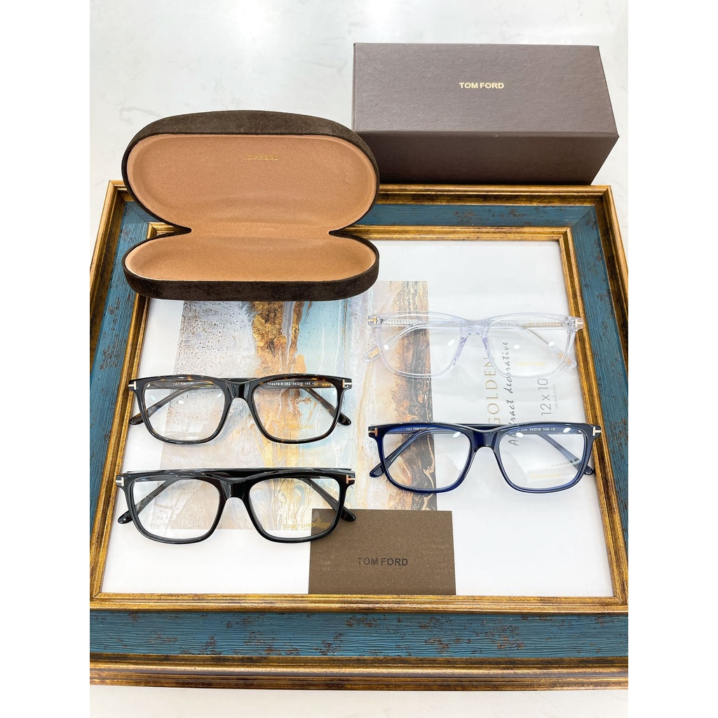 Kính mắt cao cấp TOM FORD TF thiết kế thanh lịch và thời trang
