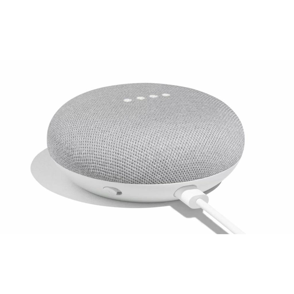 Google Nest Mini (2nd Generation) - Màu Xám Nhạt - Hàng Chính Hãng - Bảo Hành 3 Tháng (1 đổi 1)