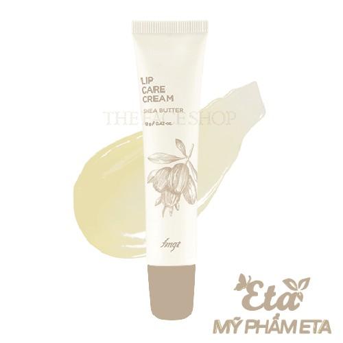 Son dưỡng môi bơ xoài TFS Lip Care Cream The Face Shop Shea Butter \ Mango fmgt (New 2020)