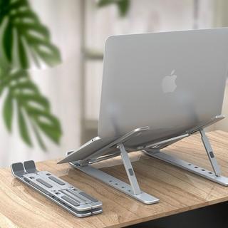 (Cao Cấp) Giá đỡ Laptop - Macbook - Máy tính bảng gấp gọn cao cấp chống đau lưng, mỏi mắt, đau cổ, đau vai gáy thumbnail