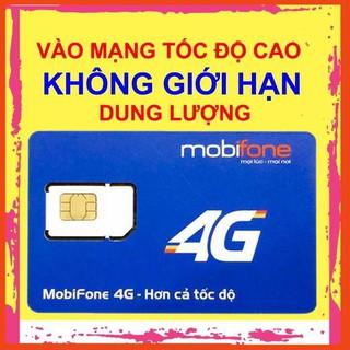 Sim 4G 1 Năm, Sim Mobifone 4G 1 Năm Không Giới Hạn Dung Lượng