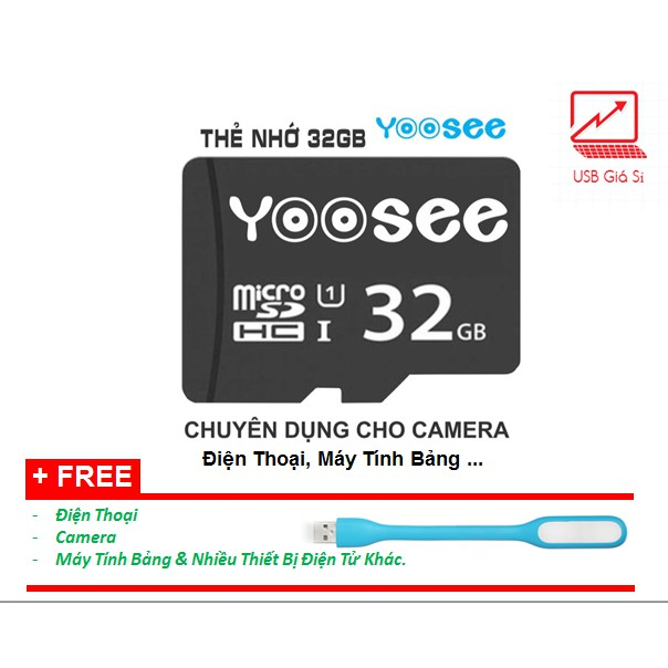 Thẻ nhớ Yoosee 32gb chuyên dụng camera Yoosee