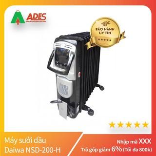 Máy sưởi dầu Daiwa NSD-200-H | Chính Hãng, Giá Rẻ