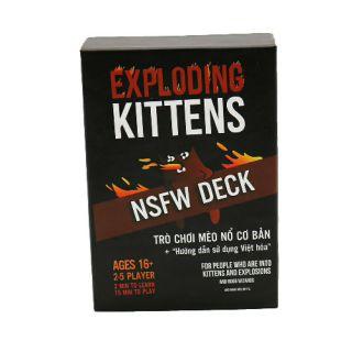 [120K Freeship] Mèo nổ đen Exploding kittens