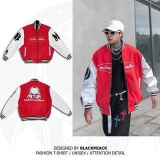 Áo Khoác Varsity Nỉ Dạ BLACKMIACK Varsity Jacket BM2