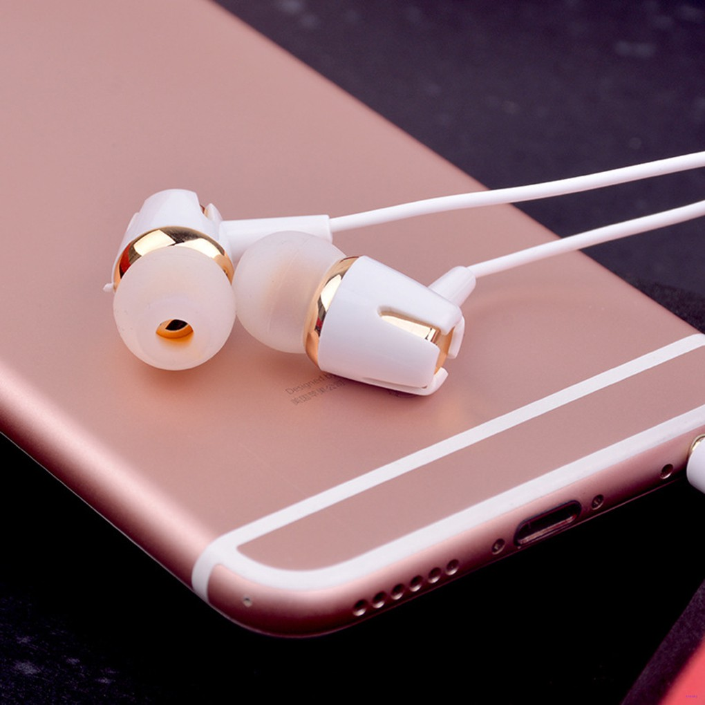 In Ear Earphone Running Sports Headphone Wired Earplug Headset with Microphone for Android for IOS