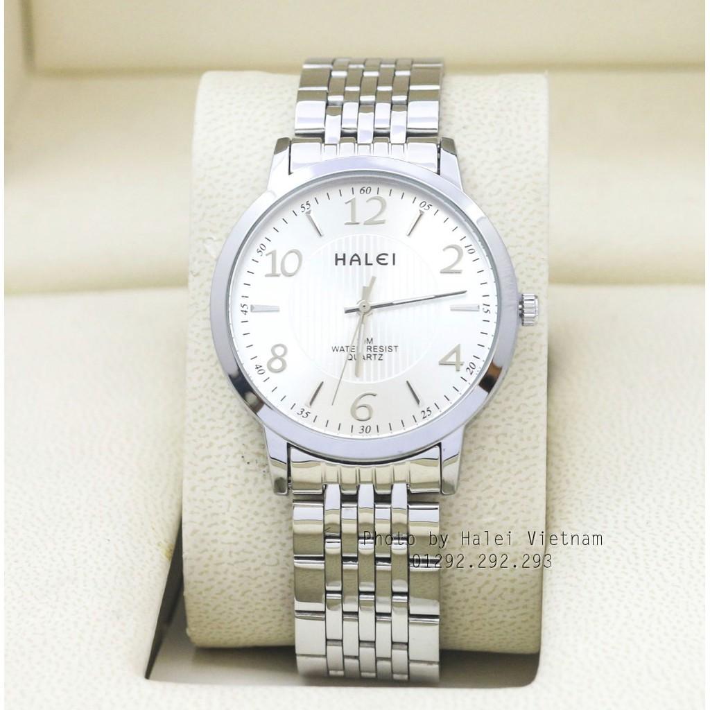 Đồng hồ nam HALEI 484 chống nước tuyệt đối dây bạc - 3466337 , 1228122997 , 322_1228122997 , 250000 , Dong-ho-nam-HALEI-484-chong-nuoc-tuyet-doi-day-bac-322_1228122997 , shopee.vn , Đồng hồ nam HALEI 484 chống nước tuyệt đối dây bạc