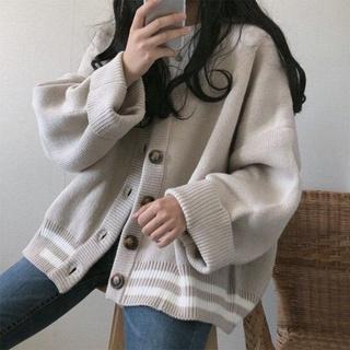 Áo cadigan nữ chất liệu len form rộng hàn quốc ulzzang vải len dày dặn thumbnail