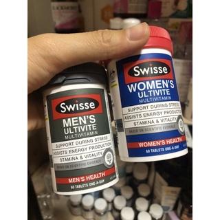 Vitamin Tổng Hợp Swisse Multivitamin cho nam/nữ- chuẩn Úc
