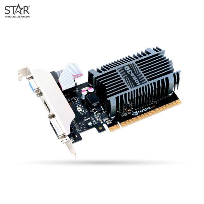 [Mã SKAMLTSM9 giảm 10% đơn 99K] VGA INNO3D GT 710 1G SDDR3 Low Profile (N710-1SDV-D3BX)