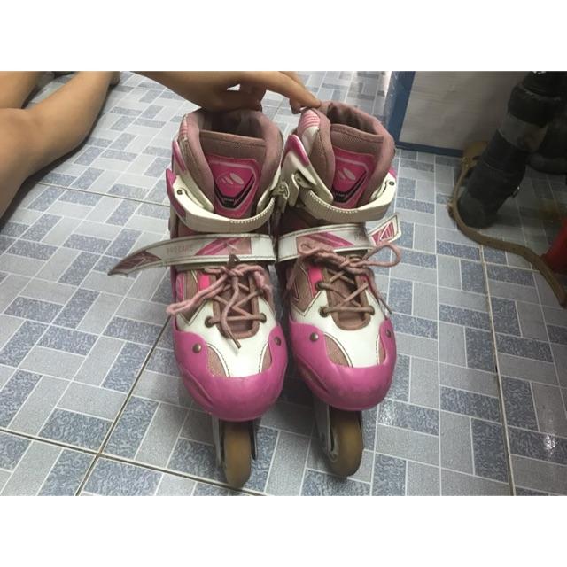 Giày Patin màu hồng xtin b