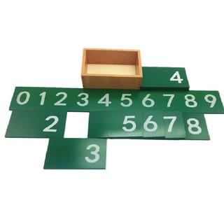 Bộ học số 0 đến 9 Giáo cụ Montessori