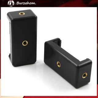 Bur_ Universal Mobile Phone Selfie Clip Bracket Stand Holder Tripod Mount Adapter
