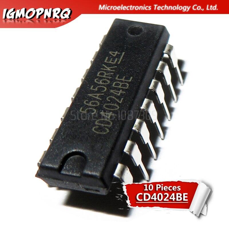 10PCS CD4024BE DIP14 CD4024 DIP new and  original IC