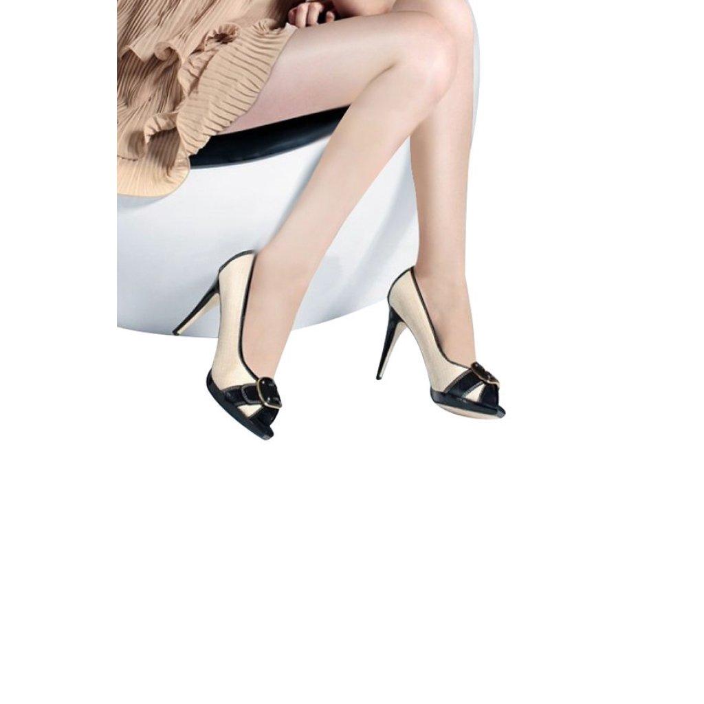 new Charming Gals  ถุงน่องเพื่อสุขภาพ แรงบีบรัดขา 140 den  ( สีเนื้อ )ew Charming Gals  ถุงน่องเพื่อสุขภาพ แรงบีบรัดขา 1