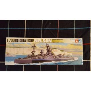 Tamiya HMS Nelson 1/700