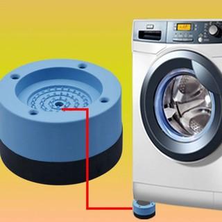 Chân máy giặt, chân đế chống rung lắc 4 miếng cao su cao cấp chống ồn chống rung