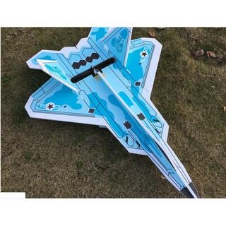 Máy bay điều khiển F22 kit flat